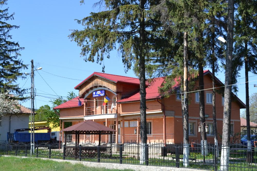 Sediul Primariei Comunei Cracaoani